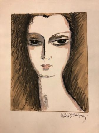 Lithographie Van Dongen - L' Anglaise