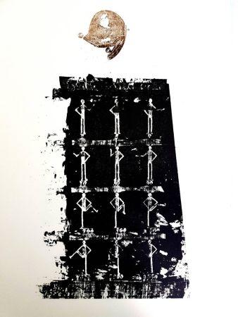 Lithographie Ernst - La Ballade du Soldat