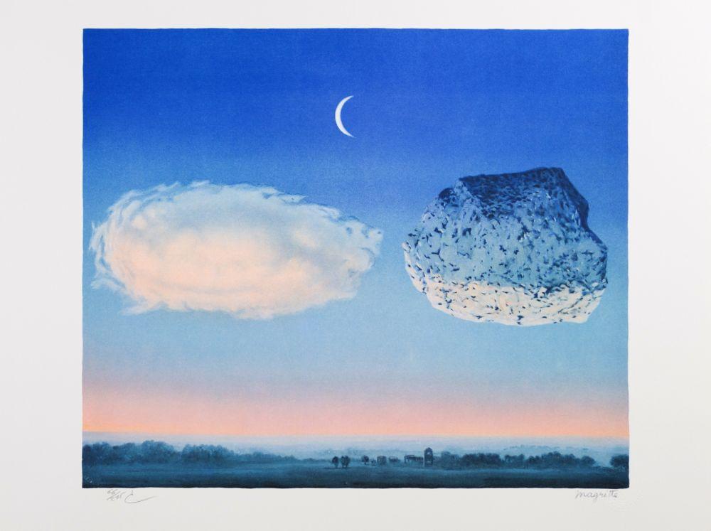 Lithographie Magritte - La Bataille de l'Argonne (The Battle of the Argonne)