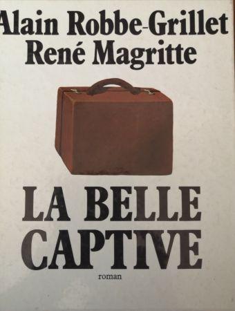 Illustriertes Buch Magritte - La Belle Captive - Roman