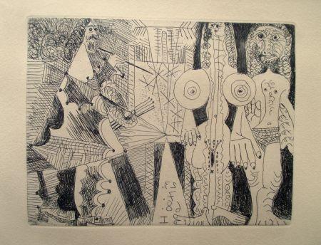 Stich Picasso - La Célestine
