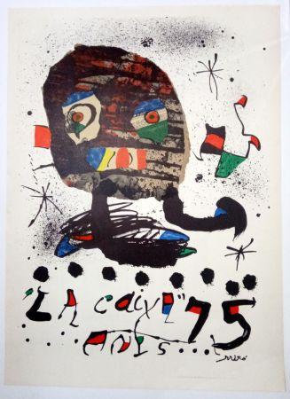 Plakat Miró - La Caixa 75 anys - 1979