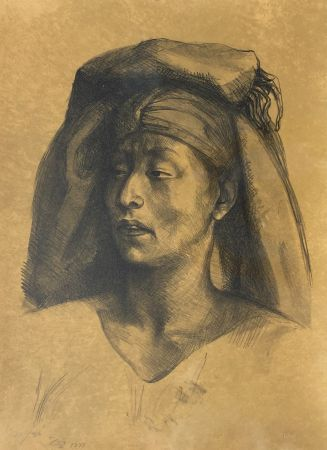 Lithographie Zuniga - La Calera
