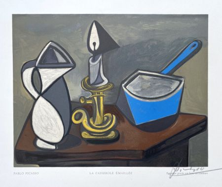 Holzschnitt Picasso (After) - La casserole émaillée