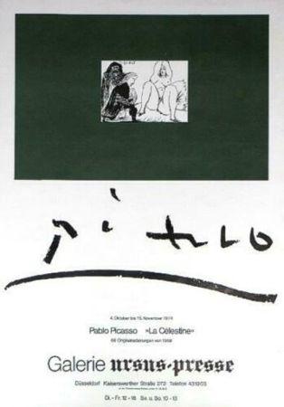 Plakat Picasso - '' La Celestine ''  Galerie Ursus Presse