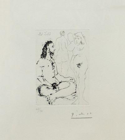 Stich Picasso - La Celestine Plate 25