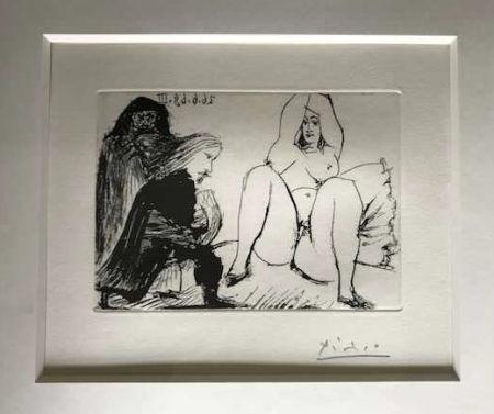Keine Technische Picasso -  La Celestine, sa protegee, et un jeune gentilhomme