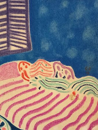 Keine Technische Amiet - La Chambre à coucher (1919)