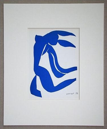 Lithographie Matisse (After) - La chevelure - 1952