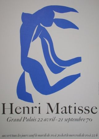 Plakat Matisse - La Chevelure - Grand Palais