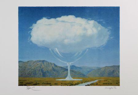 Lithographie Magritte - La Corde Sensible (Heartstring)