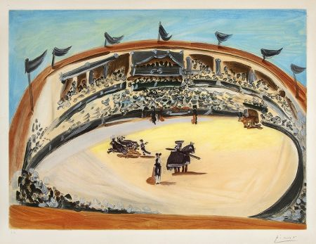 Aquatinta Picasso - La Corrida (The Bullfight)