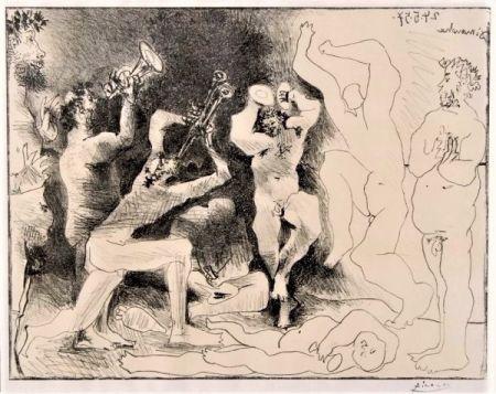 Lithographie Picasso - La Danse des Faunes