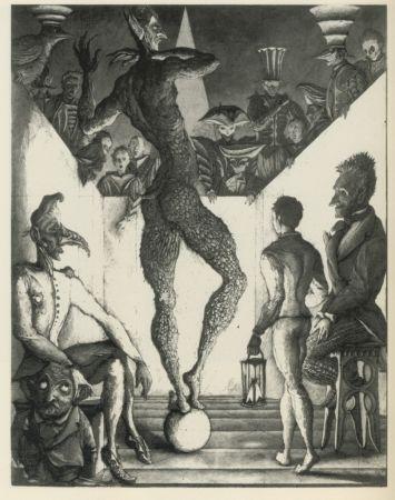 Radierung Und Aquatinta Desmazières - La Danse du Diable