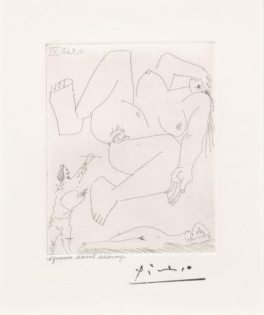 Stich Picasso - La Demesure du Peintre