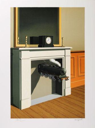 Lithographie Magritte - La Durée Poignardée