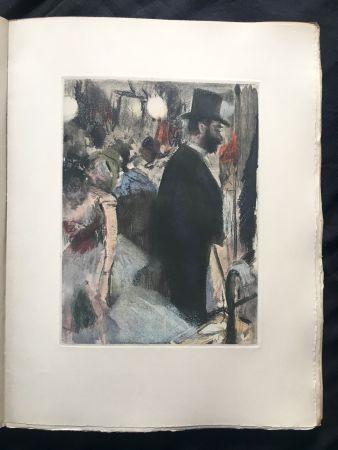 Illustriertes Buch Degas - LA FAMILLE CARDINAL.  (Ludovic Halévy). 1938