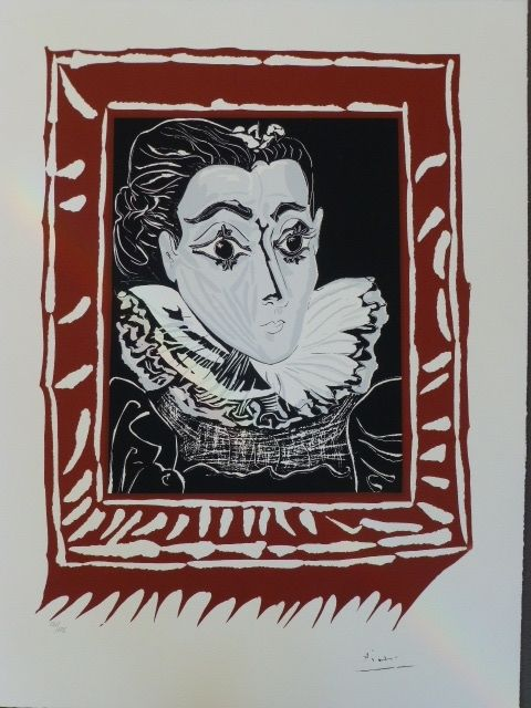Lithographie Picasso (After) - La femme à la fraise