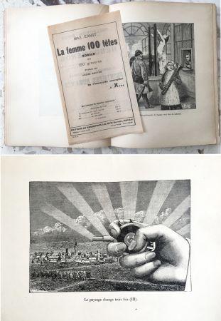 Illustriertes Buch Ernst - LA FEMME 100 TÊTES. Paris, 1929