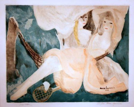 Aquatinta Laurencin - La Femme au Hamac