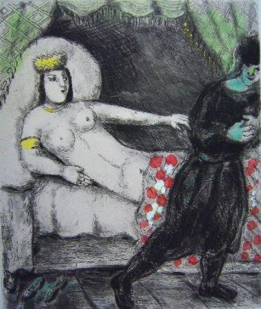 Stich Chagall - La femme de Potiphar