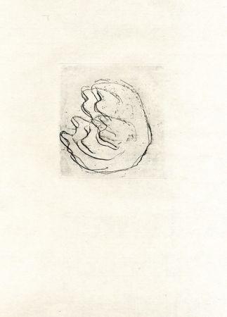 Radierung Fautrier - La femmes aux seins