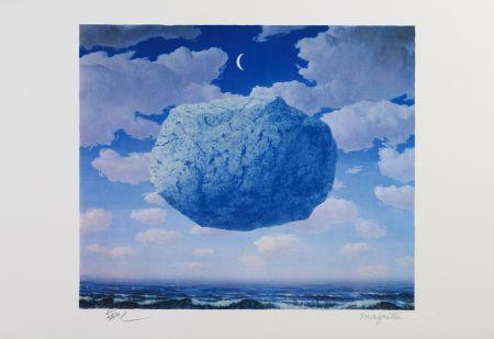 Lithographie Magritte - La Flèche De Zénon (Zeno's Arrow)