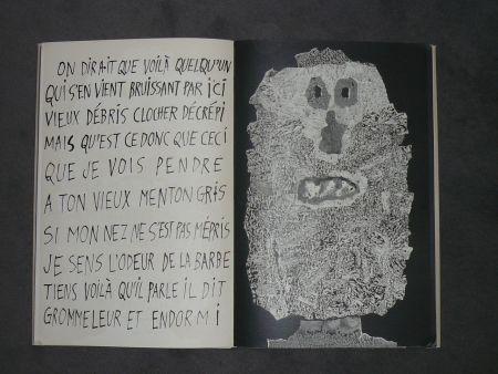 Illustriertes Buch Dubuffet - La fleur de barbe