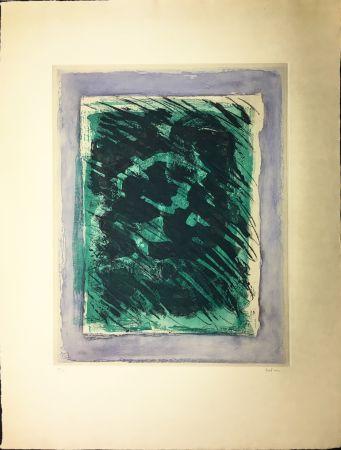 Aquatinta Fautrier - LA FORÊT (1964)