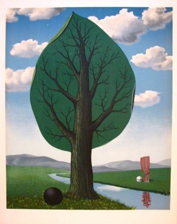 Lithographie Magritte - La géante II