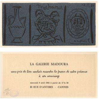 Linolschnitt Picasso - La Galerie Madoura