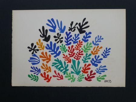Lithographie Matisse - La Gerbe, 1953
