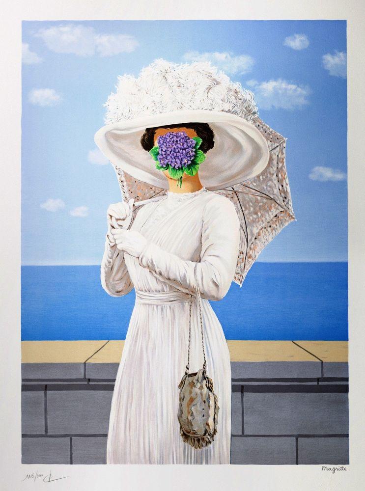 Lithographie Magritte - La Grande Guerre
