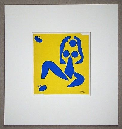 Lithographie Matisse (After) - La grenouille - 1952