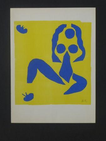 Lithographie Matisse - La grenouille, 1952