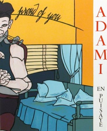 Illustriertes Buch Adami - La ligne narative