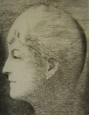 Stich Marcoussis - La mère de l'artiste en 1900