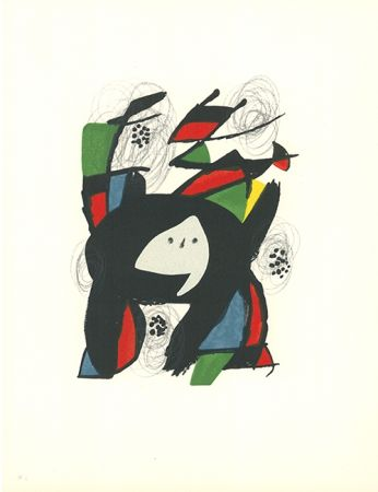Lithographie Miró - La mélodie acide - 8
