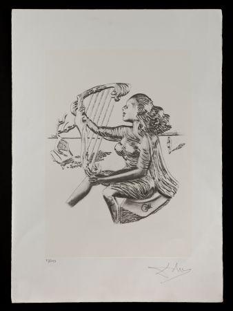 Lithographie Dali - La música