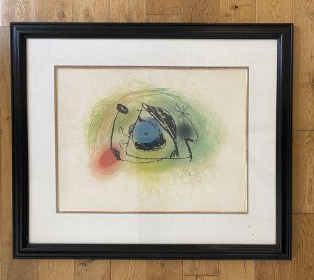 Radierung Und Aquatinta Miró - La Musaraigne (