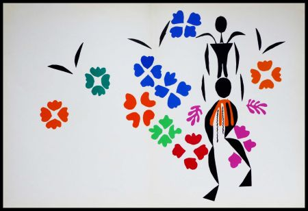Lithographie Matisse - LA NEGRESSE