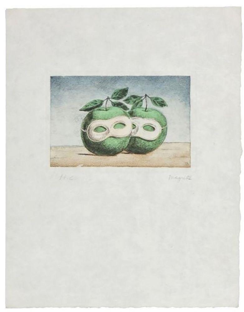 Stich Magritte - La Prêtre Marie (La Valse Hésitation)