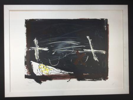 Lithographie Tàpies - La practica de l'art
