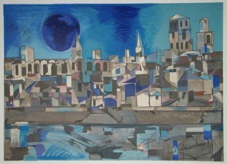 Lithographie Marchand - La Provence
