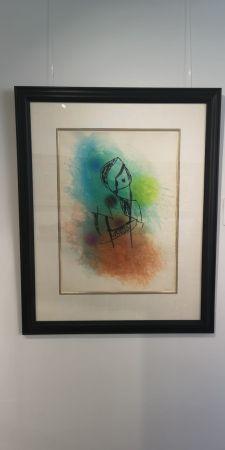Radierung Und Aquatinta Miró -  La Rainette
