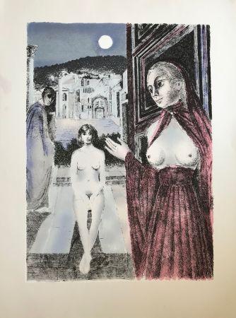 Siebdruck Delvaux - La Reine de Saba