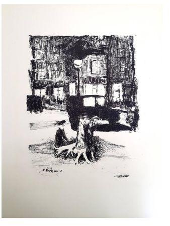 Lithographie Bonnard - La Rue