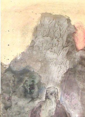 Lithographie Fini - La Tempete 16