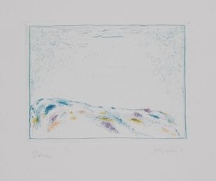 Radierung Und Aquatinta Music - La terre ecrit la terre