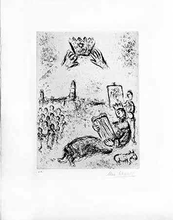 Stich Chagall - La Tour Du Roi David